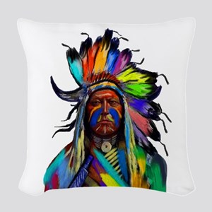 CHIEF Woven Throw Pillow
